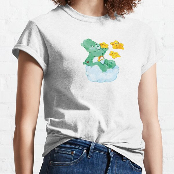 CARE CLASSIC BEARS Wish bear 90S 80S RAINBOW Y2K 2000S nostalgia print Classic T-Shirt