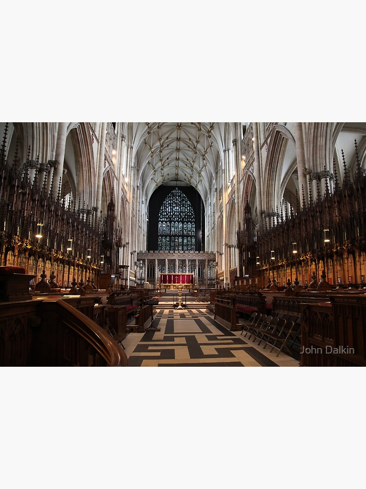 The Choir, York Minster. by JohnDalkin