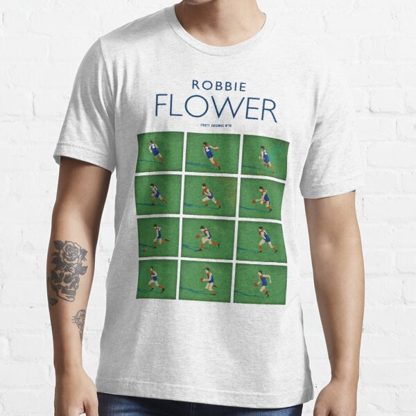 Robbie Flower, Melbourne (for white shirts only) Essential T-Shirt