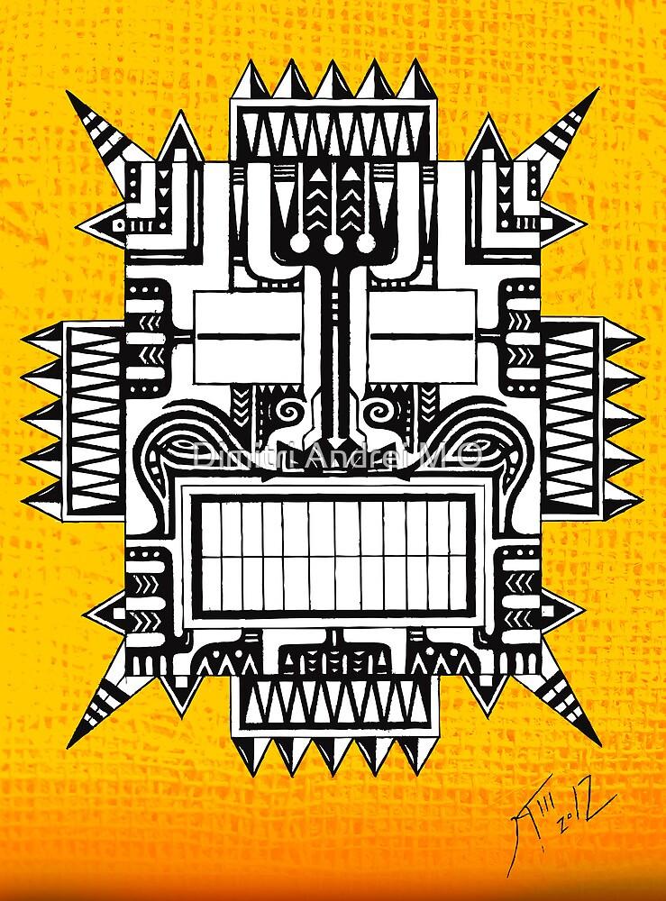 MASCARA - tribal by Dimitri Andrei M O
