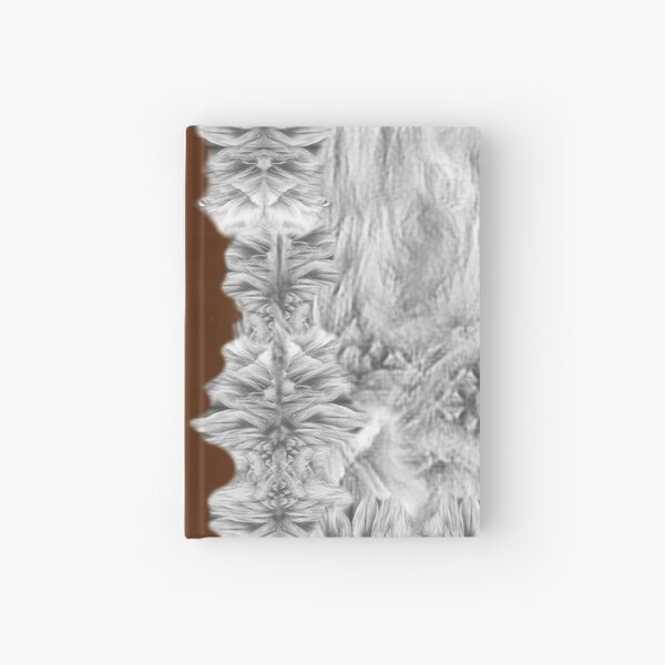 Copy of WOLF PRINT TSHIRT Hardcover Journal