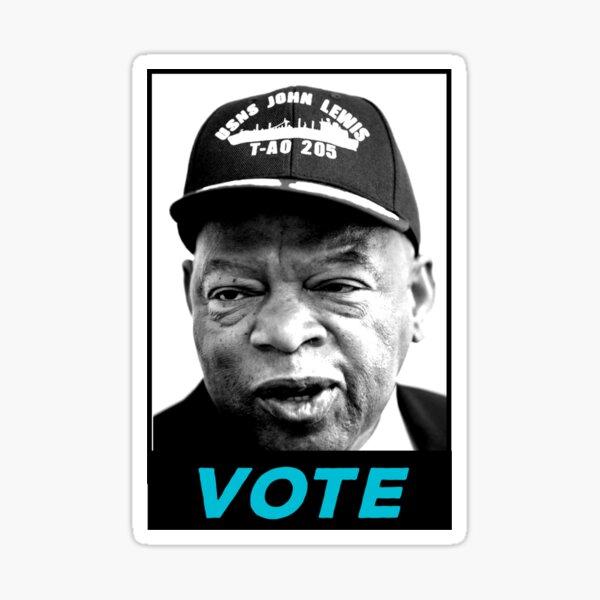 John  Lewis-vote shirt  Sticker