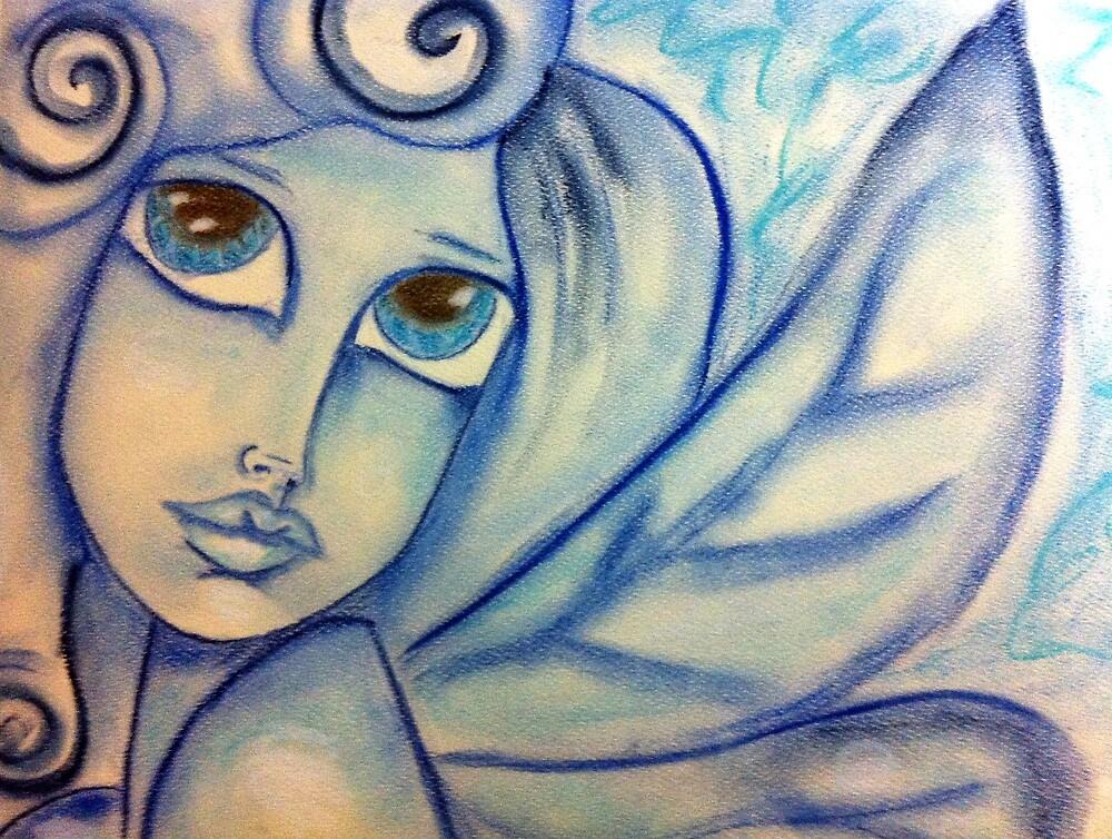 Blue Faery by DelisaCarnegie