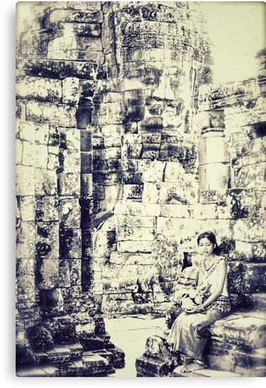 As She Ponders by Satom M Chhim