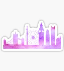 London Silhouette  Sticker