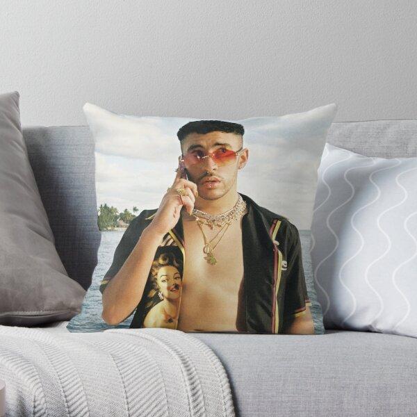 BAD BUNNY Playboy 2020 Throw Pillow