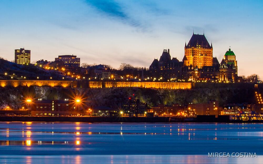 Quebec City by MIRCEA COSTINA