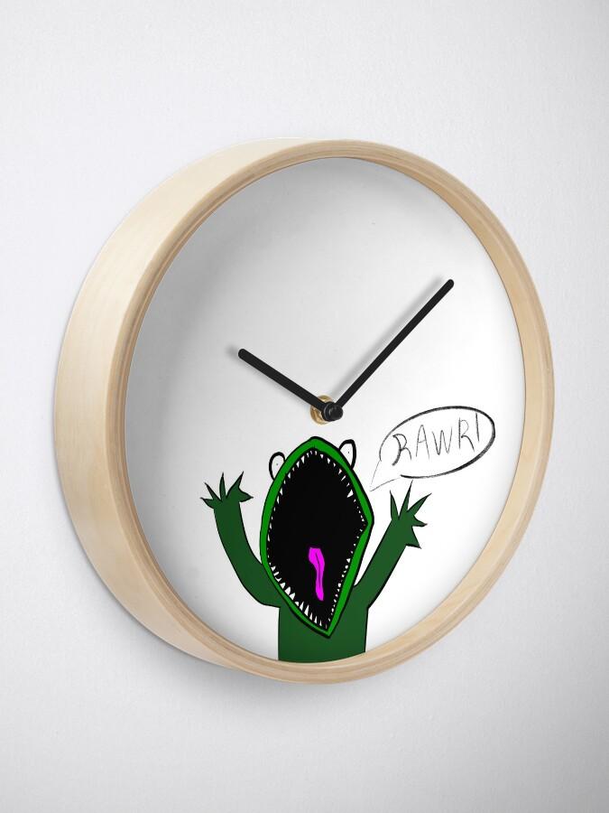 Alternate view of Monster Clock