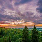 Sunset at Hikivuori by Niko Mönkkönen
