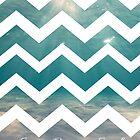 Summer Chevron by Brittany Houston
