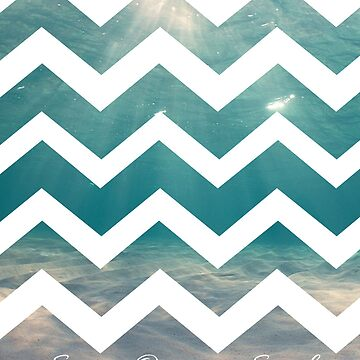 Summer Chevron by B-Rye