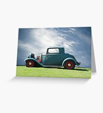 1932 Ford 'Classic American Hot Rod' Greeting Card