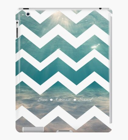 Summer Chevron iPad Case/Skin