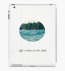 Life on the Lake  iPad Case/Skin