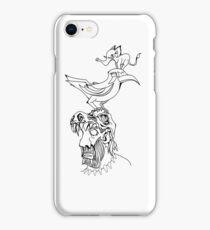 Reverse Evolution iPhone Case/Skin