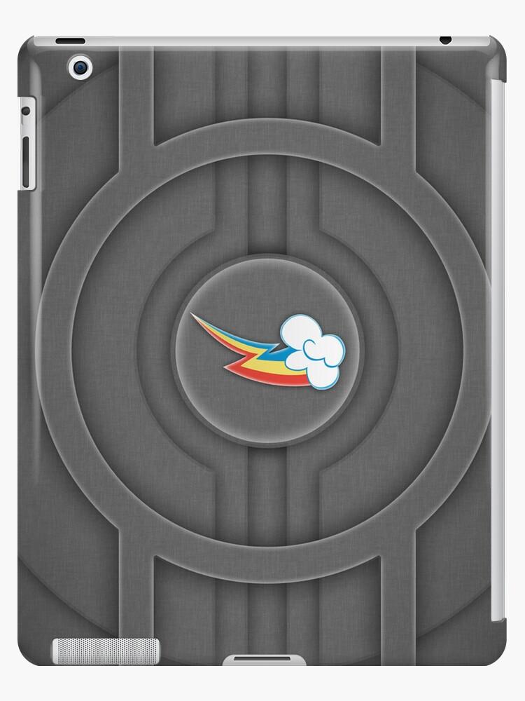 Rainbow Dash Tech Cutie Mark for iPad by Dashmagic