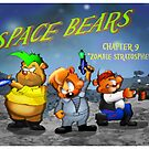 Space Bears by Michael Dodge