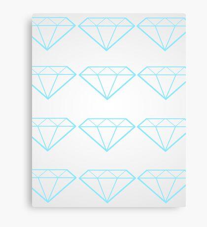 Diamonds are a Girl's Bestfriend Canvas Print