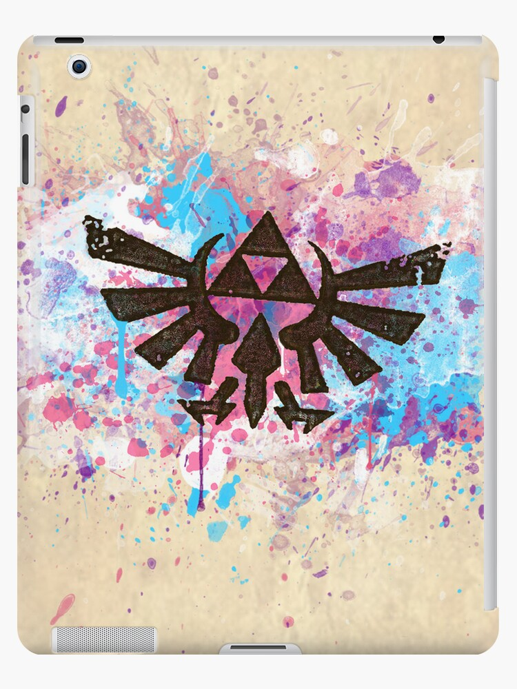 Triforce Emblem Splash by Brittany Houston