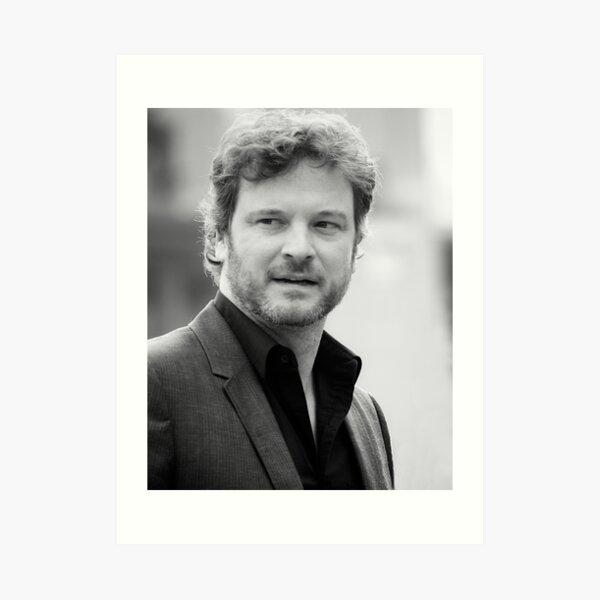 Colin Firth - 2008 Art Print