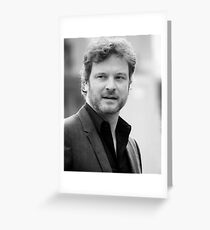 Colin Firth - 2008 Greeting Card