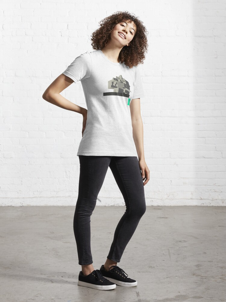Alternate view of Brutalism in Architecture Essential T-Shirt