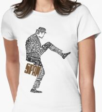 Briefcase Full of Spam (light bkgd) Women's Fitted T-Shirt