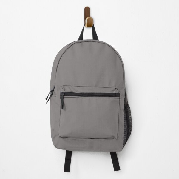 Grey Dovecote Solid Summer Party Color Backpack