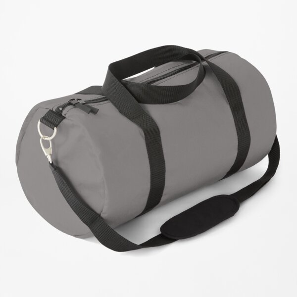 Grey Dovecote Solid Summer Party Color Duffle Bag
