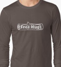 Free Hugs Tree Trunk Long Sleeve T-Shirt