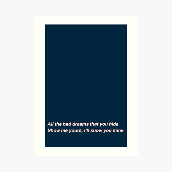 Phoebe Bridgers Savior Complex lyrics Lámina artística
