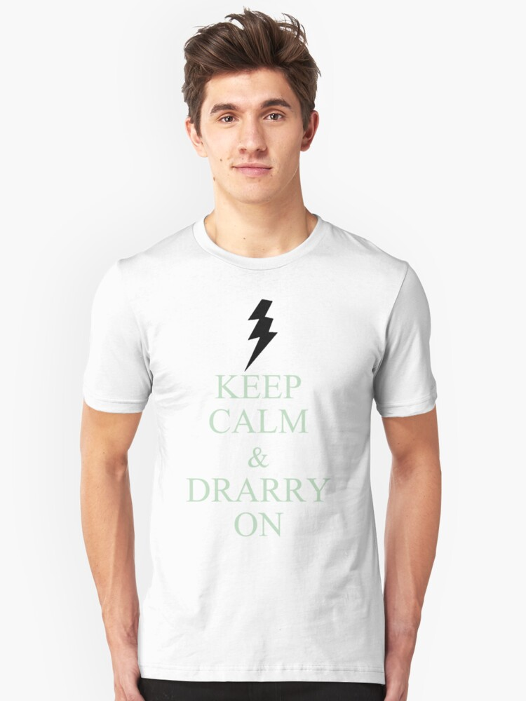 Drarry On Unisex T-Shirt Front