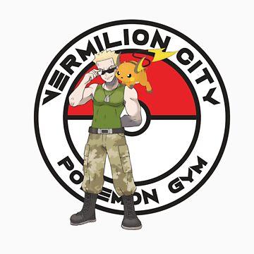 Vermilion City Pokemon Gym by Zanzabar7
