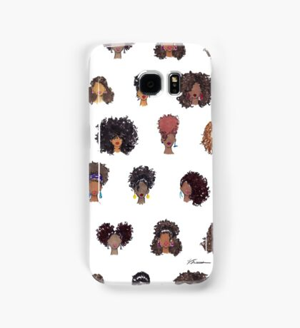 How To Be Curly Allover Samsung Galaxy Case/Skin