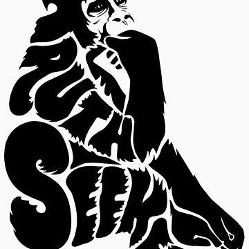 Gorilla by truthseekertees