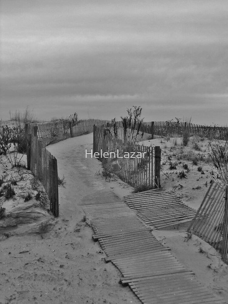 Walkway to the Beach by HelenLazar