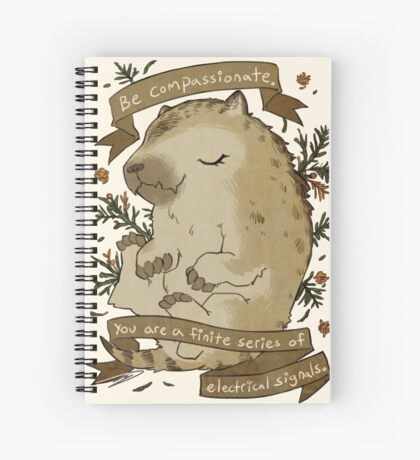 Be Compassionate Spiral Notebook