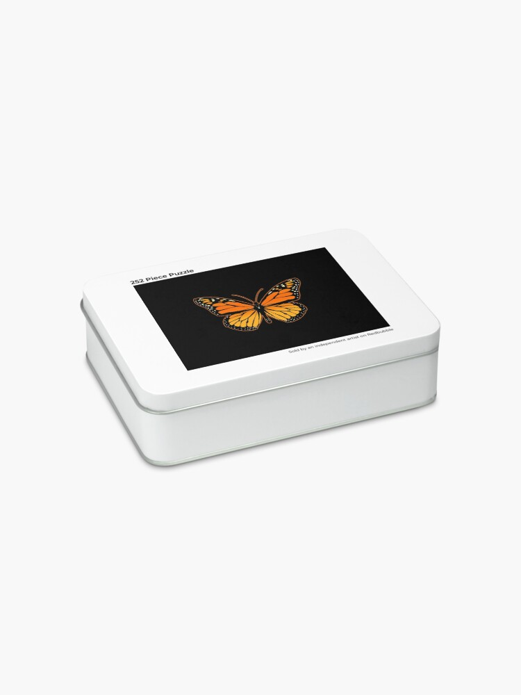 Alternate view of Monarch Butterfly Jigsaw Puzzle
