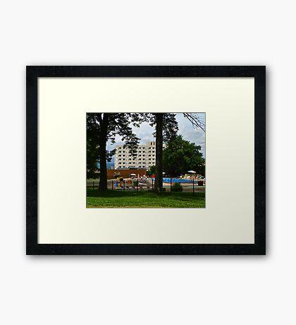 Hudson Valley Resort and Spa Framed Print