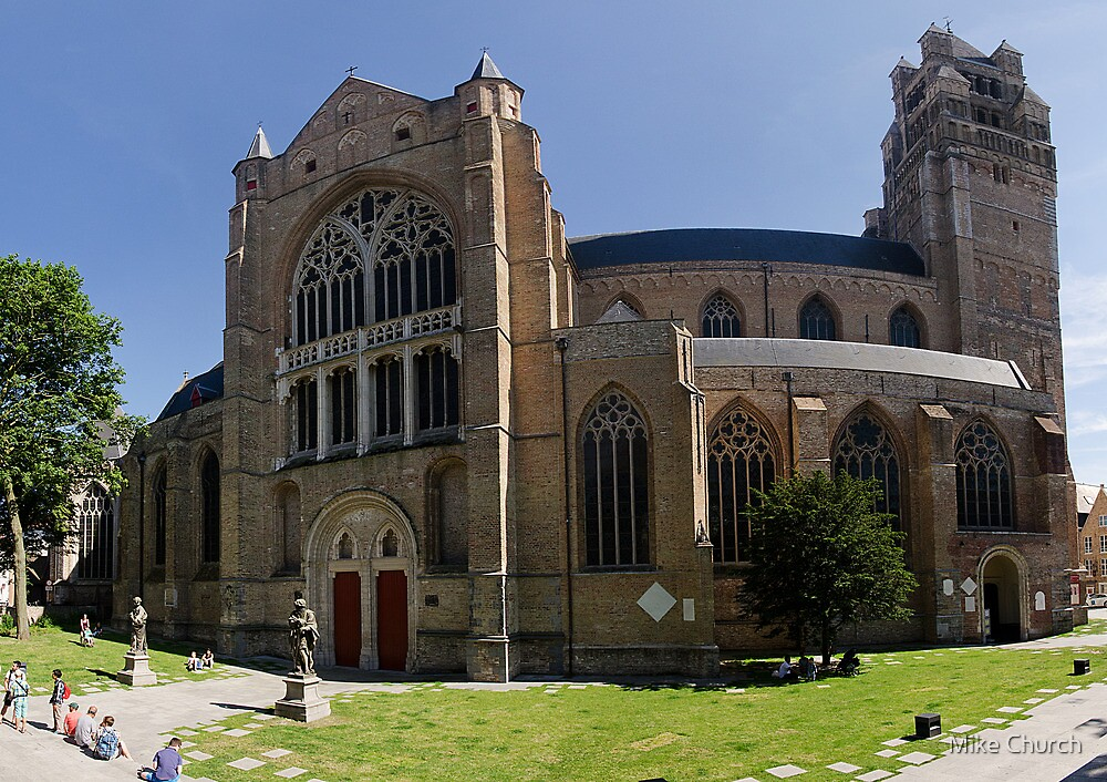 Sint-Salvator Cathedral, Brugge by Mike Church