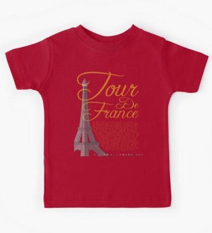 Tour De France Eiffel Tower Kids Clothes