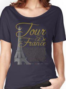 Tour De France Eiffel Tower Women's Relaxed Fit T-Shirt