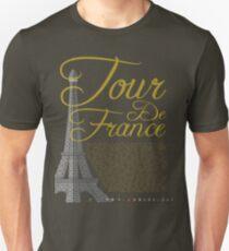 Tour De France Eiffel Tower Unisex T-Shirt