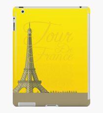 Tour De France Eiffel Tower iPad Case/Skin