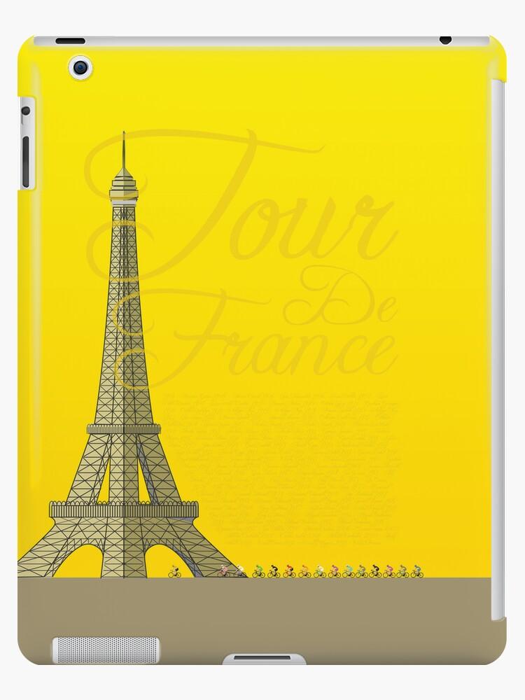 Tour De France Eiffel Tower by Andy Scullion