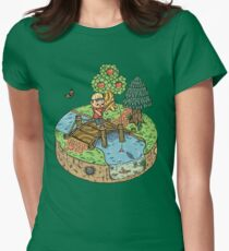 New Leaf Women's Fitted T-Shirt