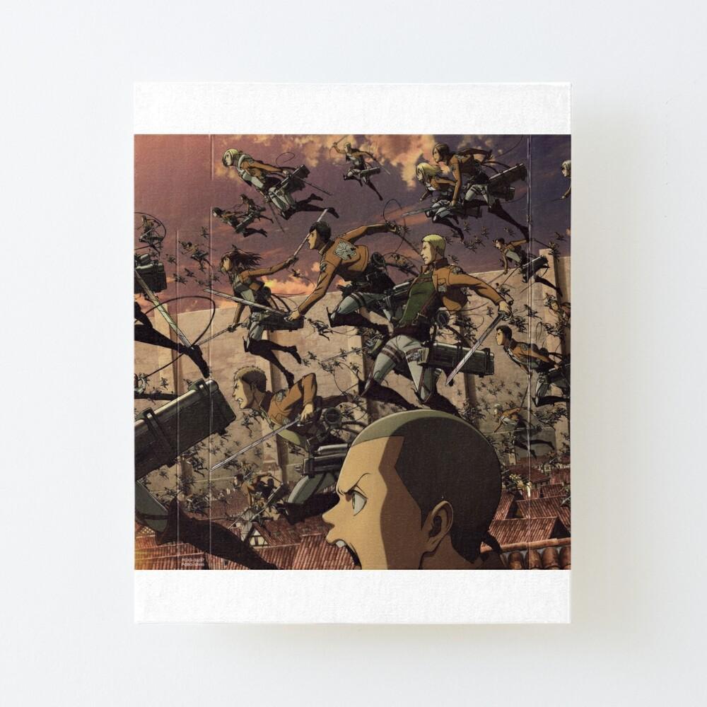 Attack On Titan Ultra 8k Wallpaper Highest Print Quality Art Board Print By Masonadamsftp Redbubble