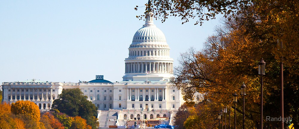 US Capitol by Randygh