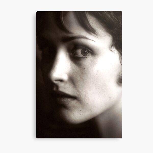 Rose Byrne - beautiful waif - 2000 Metal Print
