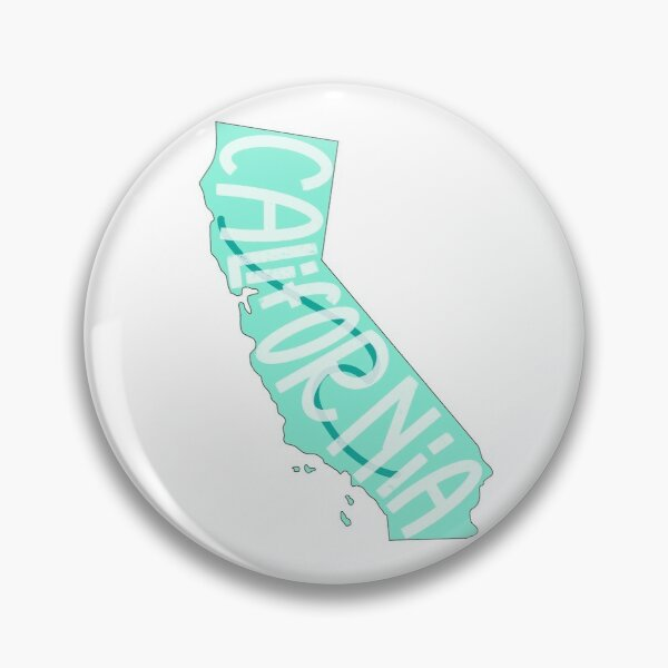 California Wave Sticker Pin